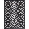 Safavieh Alexander Ivory/Black Outdoor Area Rug