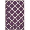Safavieh Handgetufteter Teppich Jennings in Violett/Elfenbein