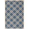 Safavieh Ivory/Blue Outdoor Area Rug