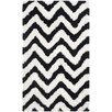 Safavieh Rosalie Hand-Tufted White/Black Area Rug