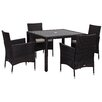 Safavieh Mykonos Outdoor 5 Piece Dining Set