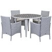Safavieh Malaga Outdoor 5 Piece Dining Set