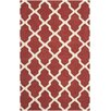 Safavieh Cambridge Hand-Tufted Red/Ivory Area Rug