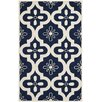 Safavieh Harris Dark Blue/Ivory Area Rug