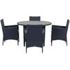 Safavieh Sardinia Outdoor 5 Piece Dining Set