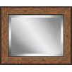 Ashton Wall Décor LLC Rectangle Aged Framed Beveled Plate Glass Mirror