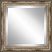 Ashton Wall Décor LLC Square Distressed Antique Beaded Framed Beveled Plate Glass Mirror