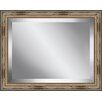 Ashton Wall Décor LLC Rectangle Distressed Antique Beaded Framed Beveled Plate Glass Mirror