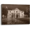 Ashton Wall Décor LLC The Alamo by Rod Chase Photographic Print on Wrapped Canvas
