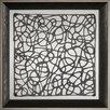 Ashton Wall Décor LLC Trends Decograph Q Framed Graphic Art