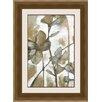 Ashton Wall Décor LLC In Bloom 'Metallic Garden I' Framed Painting Print