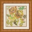 Ashton Wall Décor LLC In Bloom 'Beaded Chintz II' Framed Painting Print