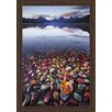 Ashton Wall Décor LLC Wildlife and Lodge 'Lake McDonald' Framed Photographic Print