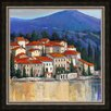 Ashton Wall Décor LLC Italian Village II Framed Painting Print