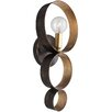 Crystorama Luna 1 Light Wall Sconce