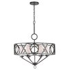 Crystorama Odette 6 Light Candle Chandelier