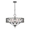 Crystorama Odette 8 Light Candle Chandelier