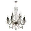 Crystorama Barrymore 12 Light Candle Chandelier