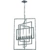 Crystorama Capri 7 Light Candle Chandelier