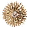 Crystorama Broche 1 Light Flush Mount