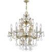 Crystorama Maria Theresa 6 Light Crystal Chandelier