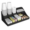Mind Reader 13 Compartment Breakroom Coffee Condiment Organizer