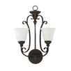 Jeremiah Barret Place 2 Light Wall Sconce