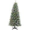Dyno Seasonal Solutions 7.5' Green Artificial Christmas Tree with 400 LED Lights and Stand