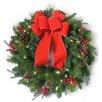 "Dyno Seasonal Solutions 30"" Christmas Mixed Needle Wreath"