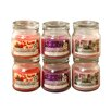 LumaBase Floral French Tulip / Deep Lilac / Heather Hyacinth Jars (Set of 6)