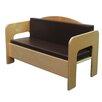 Wood Designs Natural Environment Kids Sofa
