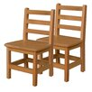 "Wood Designs 13"" Wood Classroom Chair (Set of 2)"