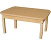 "Wood Designs 36"" x 24"" Rectangular Classroom Table"