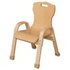 """Wood Designs Stacking 19"""" Plywood Classroom Chair"""
