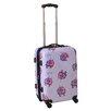 "Ed Heck Multi Love Birds 21"" Hardsided Spinner Suitcase"