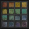 The Artwork Factory Rainbow Tiles I Framed Painting Print