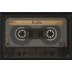 The Artwork Factory Cassette Tape BSides Framed Graphic Art
