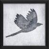 The Artwork Factory Bird 6 Framed Graphic Art in White