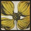 The Artwork Factory Vintage Flower Colors Framed Graphic Art