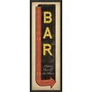 The Artwork Factory Sign Liquor Beer and Live Music Framed Textual Art