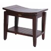 Decoteak Sojourn Contemporary Teak Shower Bench