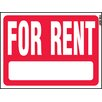 """Hy-Ko 18"""" x 24"""" For Rent Sign"""