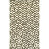 Tommy Bahama Home Atrium Scroll Work Brown/Ivory Indoor/Outdoor Area Rug