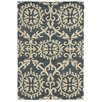Tommy Bahama Home Tommy Bahama Valencia Navy / Beige Floral Rug