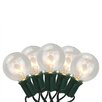 Sienna Lighting 20 Light Transparent G50 Globe Patio Light String