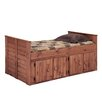 Chelsea Home Twin Panel Bed with Storage