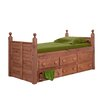 Chelsea Home Twin Captain Bed with Storage