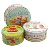 ECP Design Ltd 3-Piece Nesting Cake Tin Set
