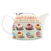 ECP Design Ltd Town Bakery 0.75L Porcelain Fairy Cakes Teapot