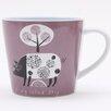 ECP Design Ltd Scandinavian Pig Mug by Jane Ormes (Set of 6)